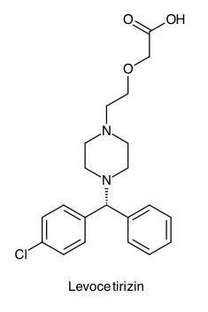 PharmaWiki - Levocetirizin